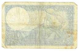 FRANCIA  - 10 FRANCHI - QUALITA' B - ANNO 1940 SERIALE 710 - E81313 - WYSIWYG - 1871-1952 Anciens Francs Circulés Au XXème