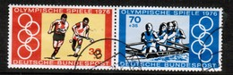 GERMANY  Scott # B 532 A-b VF USED SE-TENNANT PAIR FROM SOUVENIR SHEET (Stamp Scan # 471) - [7] Federal Republic
