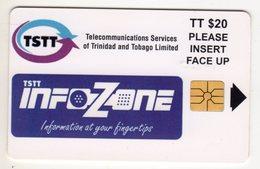 TRINIDAD & TOBAGO TSTT MV Cards T&T-C3 20$ INFOZONE - Trinité & Tobago