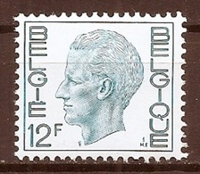 BELGIE * Nr 1648 * Postfris Xx * FLUOR  PAPIER - 1970-1980 Elström