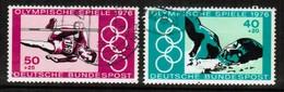 GERMANY  Scott # B 530-1 VF USED (Stamp Scan # 471) - [7] Federal Republic
