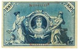 IMPERO AUSTRO UNGARICO - ANNO 1908 - 100 DEARF - QUALITA' BB - SERIALE ROSSO 5841123E  - WYSIWYG - Austria