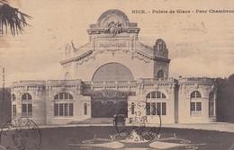NICE. PALAIS DE GLACE. PARC CHAMBRUN. ED GILETTA. CIRCULEE 1912 A BUENOS AIRES - BLEUP - Nizza