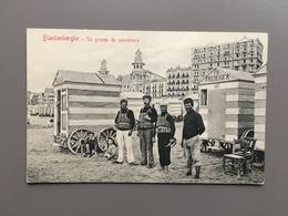 BLANKENBERGE - Plage - Sauveteurs - Blankenberge