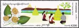 Festivals In Myanmar: Sand Pagodas Festival (MNH) - Myanmar (Birmanie 1948-...)
