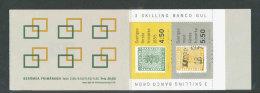 SUEDE 1992 - CARNET  YT C1694 - Facit H424 - Neuf ** MNH - Timbres Célèbres, Timbre Sur Timbre - Carnets