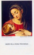 Santino - Madre Della Divina Provvidenza - E1 - Images Religieuses