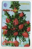 DOMINIQUE REF MV CARDS DOM-138B Année 1997 CN 138CDMB Rubies Amidst Emeralds - Dominica