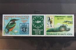 Obervolta 370-371 ** Postfrisch #SM675 - Burkina Faso (1984-...)