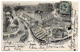 PARIS 12°--1906--illustrateur Schneider & Cie-Chalet Du Lac De SAINT MANDE--tp Type Blanc --cachet  PARIS 112...à Saisir - Arrondissement: 12