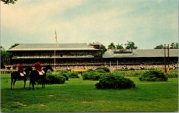 New York Saratoga Race Track The Infield And Stands - Saratoga Springs