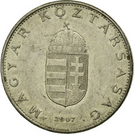 Monnaie, Hongrie, 10 Forint, 2007, Budapest, TTB, Copper-nickel, KM:695 - Hongrie