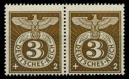 3. REICH 1943 Nr 830 Postfrisch WAAGR PAAR X7802DA - Germany
