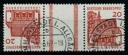 BRD ZUSAMMENDRUCK Nr KZ4 Gestempelt 3ER STR X78337E - [7] République Fédérale