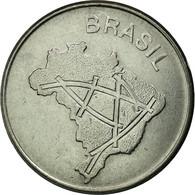 Monnaie, Brésil, 10 Cruzeiros, 1980, TTB, Stainless Steel, KM:592.1 - Brésil