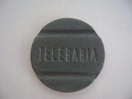 Brazil - Telephone Token TELEBAHIA Companhia Telefonica Da BAHIA - Monétaires / De Nécessité