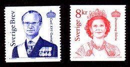 SUEDE 2000 - YT 2163/2164 - Facit 2209/2210 - NEUFS ** LUXE/ MNH - 2 Valeurs - Roi Charles XVI Et Reine Sylvia - Schweden