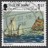 Isle Of Man 2015 Tynwald Tapestry 1st Type 5 Self Adhesive Good/fine Used [39/32006/25D] - Isle Of Man