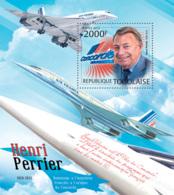 Togo  2012  HenriPerrier. Concorde ,airplane - Togo (1960-...)