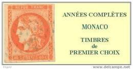 """Monaco, Année Complète 1995, N° 1971 à N° 2025** Y Et T Avec BF Et Carnet """"Flore"""" - Monaco"""