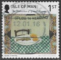 Isle Of Man 2015 Tynwald Tapestry 1st Type 1 Self Adhesive Good/fine Used [39/32007/ND] - Isle Of Man