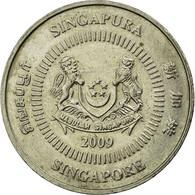 Monnaie, Singapour, 50 Cents, 2009, Singapore Mint, TTB, Copper-nickel, KM:102 - Singapour