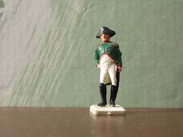 Old Small Figure * Perhaps Portuguese * Army - Figurines