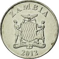 Monnaie, Zambie, Kwacha, 2012, British Royal Mint, TTB+, (No Composition) - Zambia