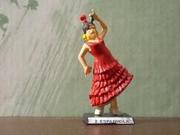 Old Small Figure * Perhaps Portuguese * Espanhola Nº2 - Figurines