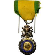 France, Troisième République, Valeur Et Discipline, Médaille, 1870, Excellent - Militaria