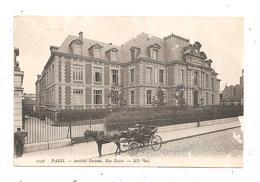 Paris-Institut Pasteur -Rue Dutot-attelage  (C.9981) - Arrondissement: 15