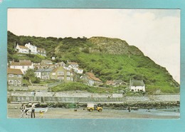 Small Post Card Of Runswick Bay Nr.Whitby,Yorkshire,N70. - Whitby