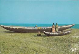 TOGO---Barques De Pêche Traditionnelle---voir 2 Scans - Togo