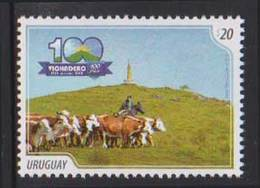 URUGUAY, 2018, MNH, CATTLE, COWS, 1v - Vaches