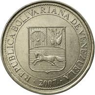 Monnaie, Venezuela, 50 Centimos, 2007, Maracay, TTB, Nickel Plated Steel, KM:92 - Venezuela