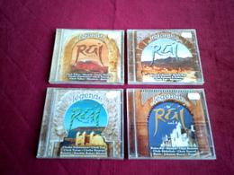 COLLECTION   DE LA  LEGENDE  DU RAI   VOL  DE 1 A 4         CD  NEUF - Ohne Zuordnung