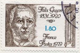 France Poste Obl Yv:2052 Mi 2159 Yv:0,5 Euro Félix Guyon Urologue (cachet Rond) - France