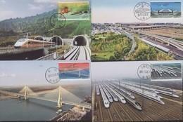 2017-29 CHINA HIGH SPEED TRAIN RAILWAY MC - 1949 - ... People's Republic