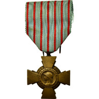 France, Croix Du Combattant, Médaille, Très Bon état, Bronze, 36 - Militaria