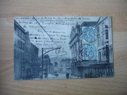 1904 Clermont A Paris 2 Eme C   Cachet Ambulant Convoyeur Poste Ferroviaire Sur Lettre - Marcophilie (Lettres)