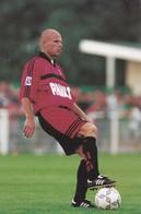 FOOTBALL--RENNES--Philippe BRINQUIN--défenseur---championnat 2000---carte PUB--voir  2 Scans - Football