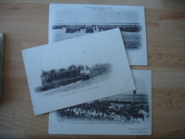 Lot 3 Carte Imperatrice Tsarine Russie  Rvue Militaire Betheny - Bétheny