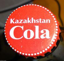 KAZAKHSTAN: Original KAZAKHSTAN COLA Bottle Cap Undented/crown Used RARE - Casquettes & Bobs