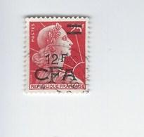 Département De La Réunion Surchargé CFA. Marianne. Y & T N°337A Oblitéré Année 1957-59 - Sonstige