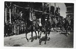 (RECTO / VERSO) FETES DE LA VICTOIRE - 14 JUILLET 1919 - DEFILE MILITAIRE - CPA PHOTO NON VOYAGEE - 75 - Guerre 1914-18