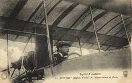 Lyon Aviation METROT  (Biplan Voisin) Au Départ Avant Sa Chute RV - Meetings