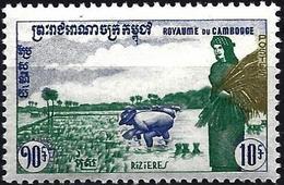 Cambodia 1960 - Mi 110 - YT 96 ( Rice Fiel ) MNH** - Cambodja