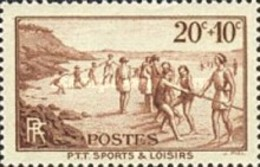 USED France - The Postal Unions Sports Club - 1937 - France