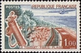 USED France - The Seaside Resort Le Touquet - 1962 - France
