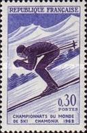USED France - World Ski Championships, Charmonix- 1962 - France